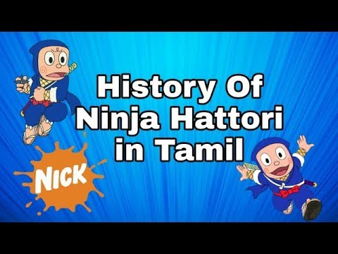 History of Ninja Hattori in Tamil - MSD all in one
