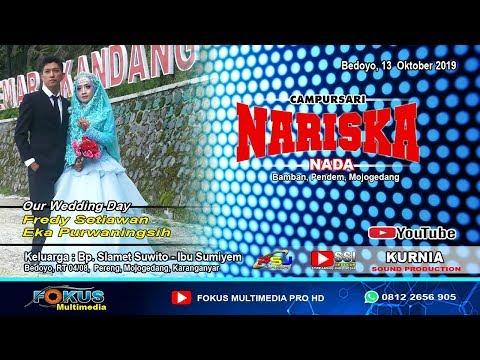 LIVE NARISKA NADA//THE WEDDING FREDY & EKA//FOKUS Multimedia//KURNIA Sound