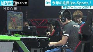 東京ゲームショウ人気の「e-Sports」に各社注力17/09/22