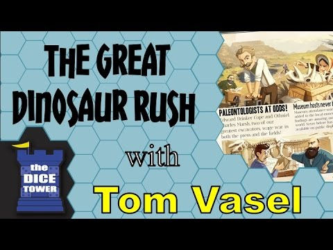 The Great Dinosaur Rush Review - with Tom Vasel