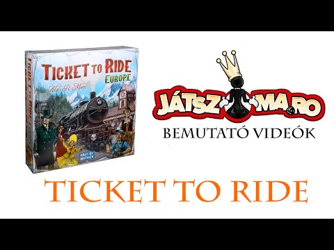 Ticket to Ride: Europe bemutató - Jatszma.ro