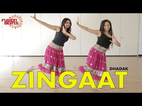 Dance to Zingaat Hindi | Dhadak | Bollywood Dance  Ishaan & Janhvi | Ajay-Atul | Fusion Beats Dance