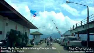 preview picture of video 'Laem Ngob Pier, Trat, Thailand'