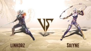 linkorz (Geralt) VS Saiyne (Ivy) - Offline Set (29.01.2019)