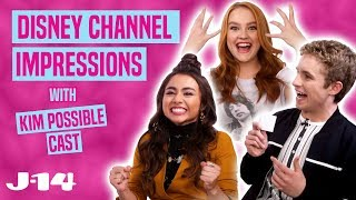 Kim Possible Cast Does Disney Channel Impressions