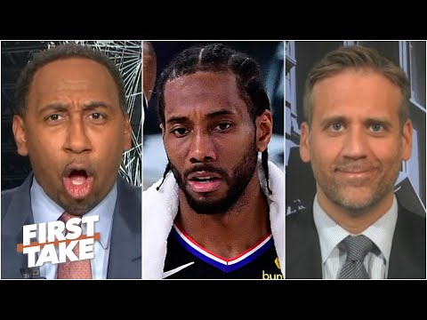 Stephen A. blasts Max for his 'embarrassing' response to Kawhi losing Game 7 | First Take