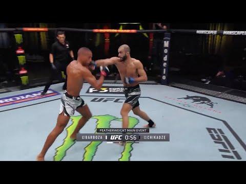 UFC on ESPN 30: Barboza vs. Chikadze – highlights