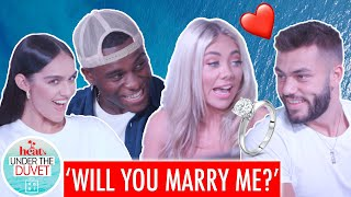 Finn proposes to Paige! 💍 |Under the Duvet Episode 6