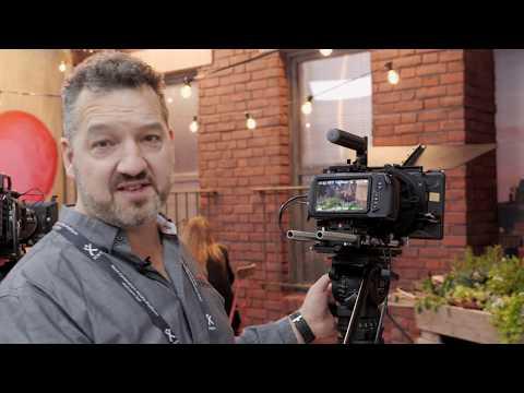 Wooden Camera BMPCC4K Cage @ IBC 2018