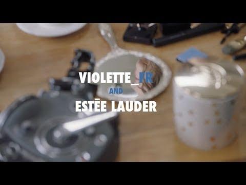 How To: Estée Beauty Director Violette's Bold Blue Smoky Eye