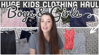 HUGE CLOTHING HAUL! Kids Summer Clothes (BOYS & GIRLS)