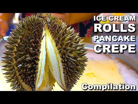 Street Food Around The World Compilation - DURIAN Fruit! Street Food Ever - Ep0
