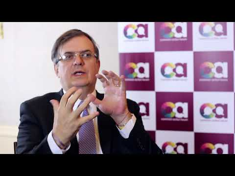 CAF2017 Interview - Marcelo Ebrard