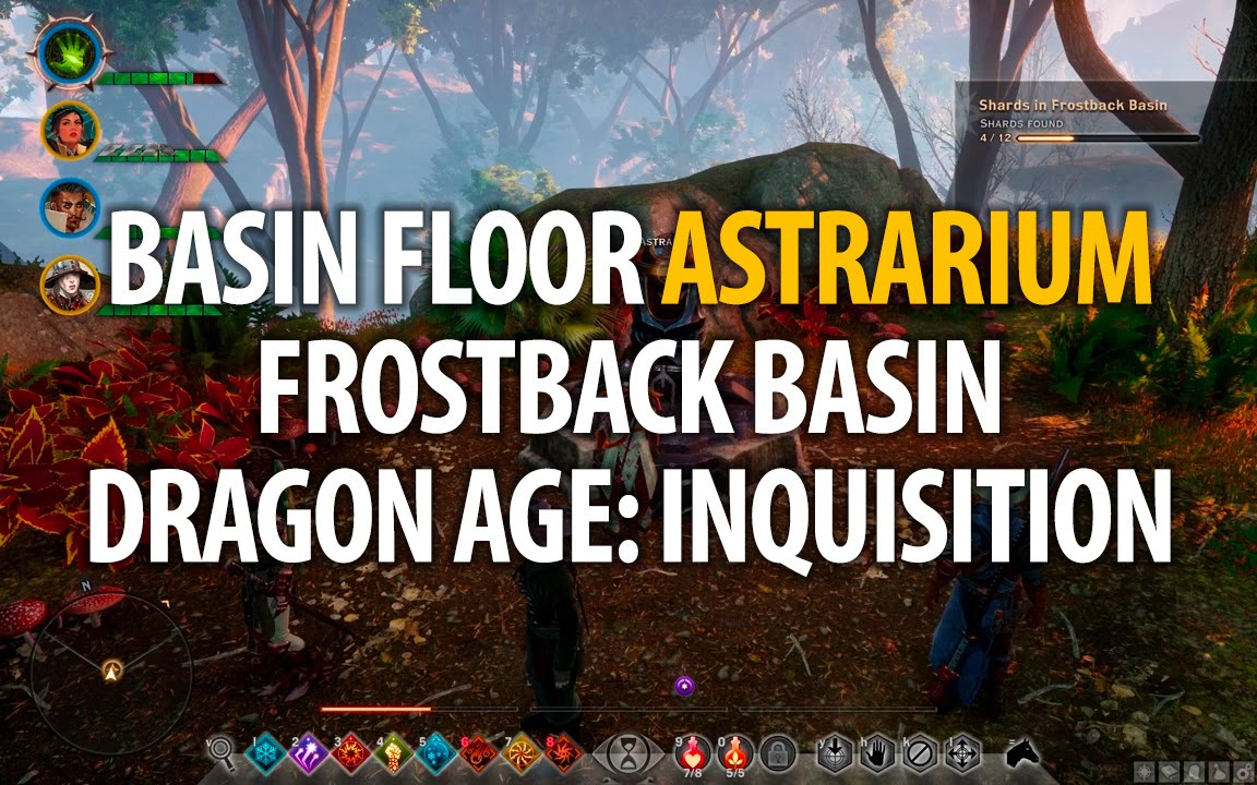 Frostback Basin Map - Jaws of Hakkon DLC - Dragon Age