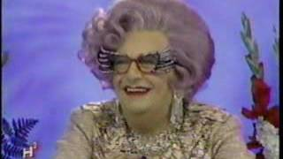 """Dame Edna on """"Hollywood Squares"""" (2002)"""
