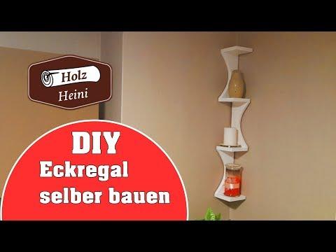 DIY - Einfaches Eckregal selber bauen für unter 5 €