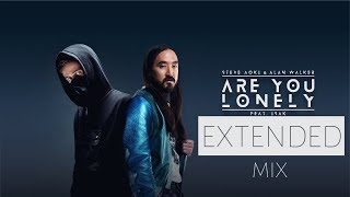 Extended Are you lonely (0riginal MIKS)    Alan Walker × Steve Aoki - ft. ISAK    feEDMe