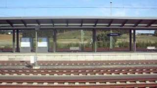 preview picture of video 'ICE 3 passing Montabaur with 300 km/h'