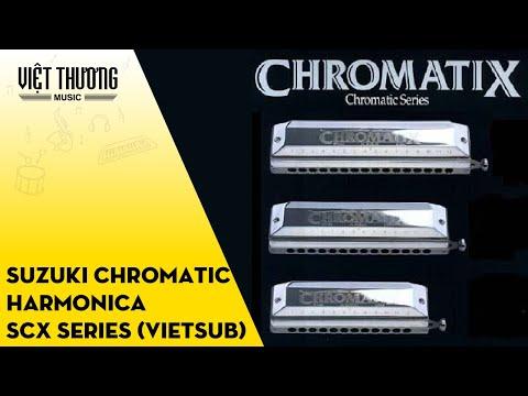 Suzuki Chromatic harmonica SCX series