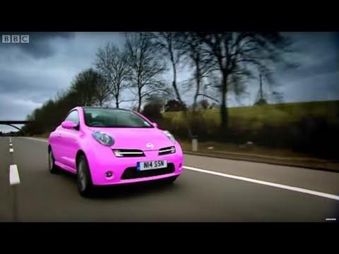 Richard Hammond Drives A Pink Nissan Micra Convertible | Top Gear