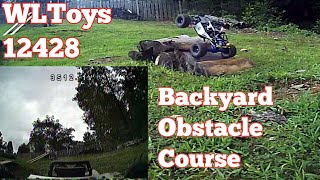 WLToys 12428 - Backyard Obstacle Course - FPV