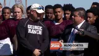 HONDA COACH OF THE WEEK - RICKY TULLOS, GEORGE RANCH, 10-17-15