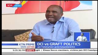 DCI George Kinoti says he is unbowed by sentiments of a section of jubilee leaders
