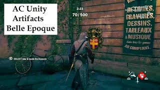Assassin's Creed Unity All Artifact locations Belle Epoque. Altair's outfit unlock