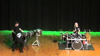epic drum battle March 13, 2016