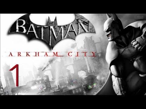 Прохождение Batman: Arkham City (живой коммент от alexander.plav) Ч. 1