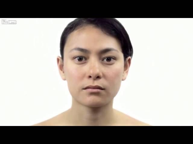 تصوير بالبطيء لتحول الإنسان من الصغر إلى الكبر