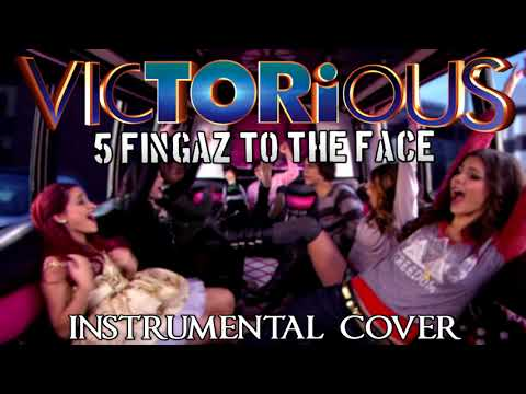 Victorious | Five Fingaz To the Face | Instrumental Cover