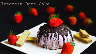ICECREAM DOME CAKE#DESSERT#kids party special#easy recipe#aachi's kitchen