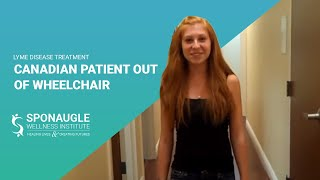 Canadian Lyme Disease Patient Out of Wheelchair | Treatment of Lyme Disease