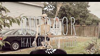 Outdoor Halloween Decor Tour 2019 | AT HOME WITH JILLIAN