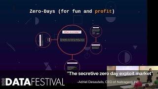 "Adriel Desautels at BDF 2015 | ""The secretive zero day exploit market"""