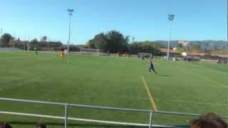 preview picture of video 'infantil A escuela de gava f.c.barcelona A GOLLLL GAVA'