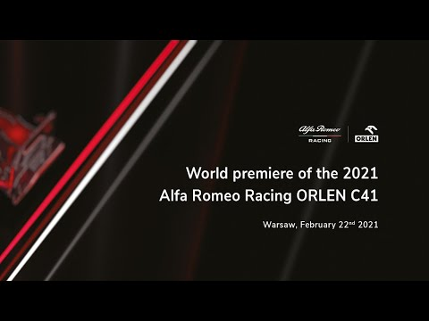 Image: LIVE | Follow the presentation on Alfa Romeo's new C41 for 2021 here