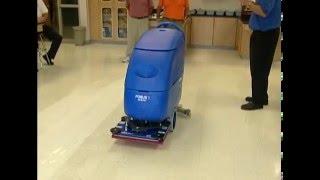 Nichols Video promoting the Clarke Boost Auto Floor Scrubber