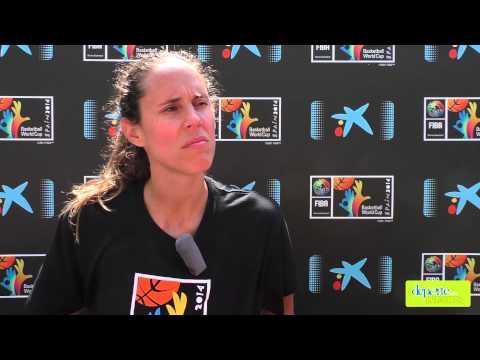 Entrevista a Amaya Valdemoro en la Fiesta del Baloncesto Navarro