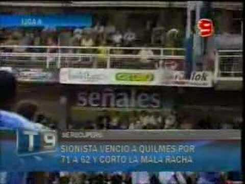 Liga Nacional A: Sionista 71quilmes 62 (alma Y Corazón)