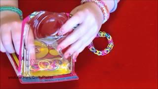 Rainbow Loom Rubber Band Haul - Dollar Store Rubber Band Bracelets, Rings, Charms, Twistz Bandz