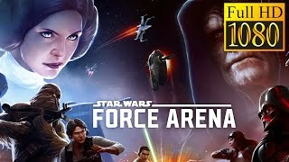 Star Wars : Force Arena Game Review 1080P Official Netmarble Games Strategy 2017