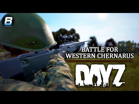 Battle For Western Chernarus - DayZ 1.02