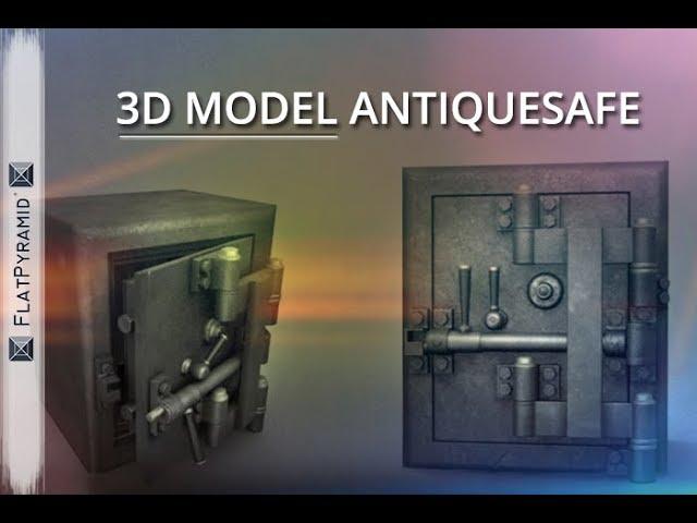 Antique Diebold Safe 01