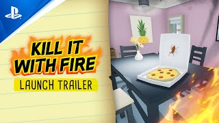 PlayStation Kill It With Fire - Launch Trailer | PS4 anuncio