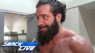 Elias celebrates with his eyes on the exits: SmackDown Exclusive, Aug. 20, 2019