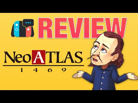 Neo Atlas 1469 (Switch Review) - most CHILLED game on Switch?