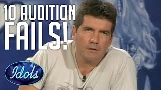10 Audition FAILS On AMERICAN IDOL | Idols Global