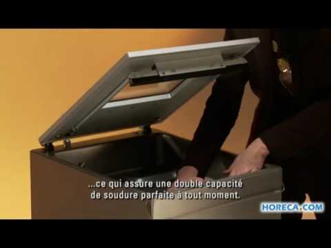 Video Henkelman machine sous vide Boxer 42 XL ESD - Frans